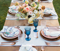 floral party at Flora Farms in Mexico