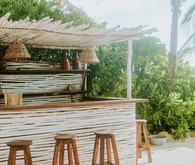 rustic tropical all white wedding in Tulum