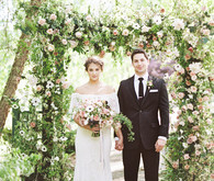 Floral spring wedding ideas