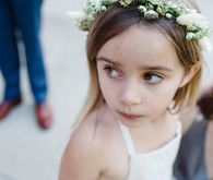flower girl flower crown