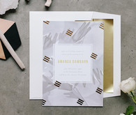 baby shower invites by Minted