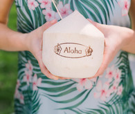 Coconuts for bridal shower