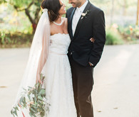 romantic garden wedding inspiration