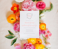 colorful Richmond, Virginia wedding