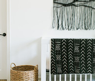 mud cloth inspired nursery