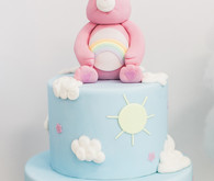 care bear birthday cake