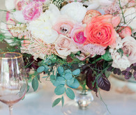 Pink and blue oceanic wedding ideas