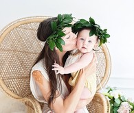 Styled Mommy & Me portraits