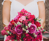 bougainvillea bridal bouquet