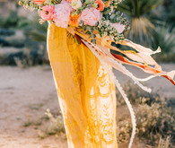 Boho engagement shoot in Joshua Tree