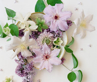 purple floral ideas