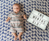two month baby photo