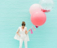 whimsical bridal portraits