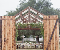 Rustic ranch wedding in Ramona