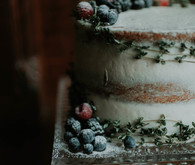 dark semi-naked cake ideas