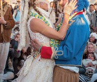 Burning Man wedding