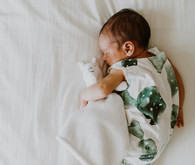 Cactus romper and newborn photos