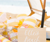 Italian Riviera beach party 1st birthday