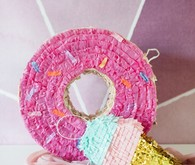 Donut themed birthday party