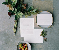 minimal wedding invitations