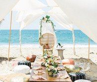 Beach party table