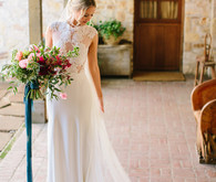 Bridal portrait at Holman Ranch