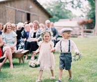 cutest flower girl and ring bearer