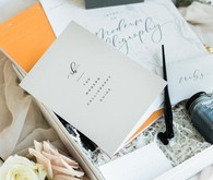 Calligraphy workshop with Stephanie B. Design