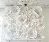 Paper Flower installation