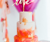 Bougainvillea and Marigold Love themed birthday party