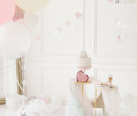 Ethereal feminine girl's birthday party ideas
