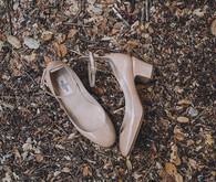 Valentino patent leather wedding shoes