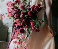 Dramatic fall floral ideas