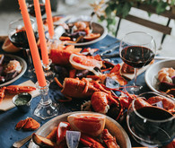 lobster dinner styling
