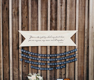 Moon and stars quote for wedding