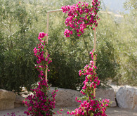 bougainvillea ceremony decor