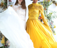 Modern bohemian bridal collection by Leanne Marshall