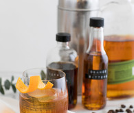 Coffee and whiskey cocktail recipe