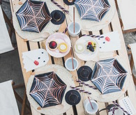 Pink halloween party ideas