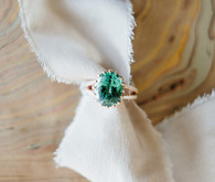 emerald engagement ring