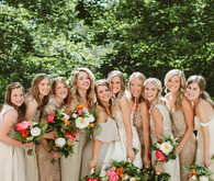 California meets Colorado modern boho wedding in Denver