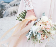 Blush Yosemite vow renewal