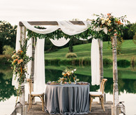 Glam fall wedding inspiration