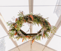 hanging wreath