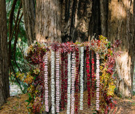 Rustic fall forest wedding at Santa Lucia Preserve in Carmel