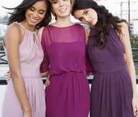 Jewel toned bridesmaid dresses