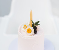 Feminine fall Moon themed 1st birthday party on 100 Layer Cakelet