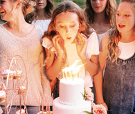 Unique feminine girlfriends 13th birthday party