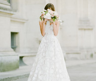 Parisian wedding dress