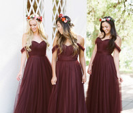 Revelry Convertible Bridesmaid dress